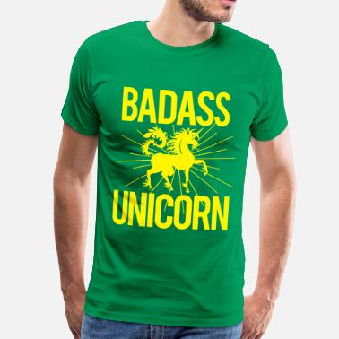 Badass Unicorn Badass Unicorn - Men's Premium T-Shirt
