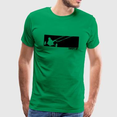 kite buggy - Men's Premium T-Shirt
