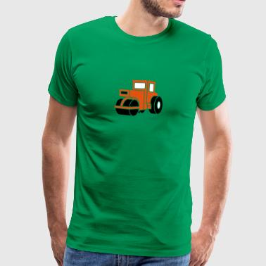 3 col - Dampfwalze Traktoren Steam-powered rollers Tractors - T-shirt Premium Homme