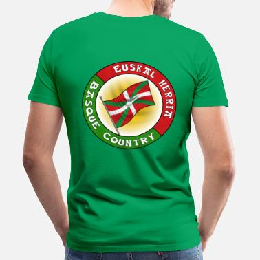 Country Basque Country - T-shirt Premium Homme