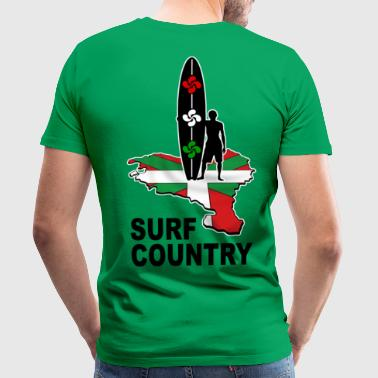 basque surfing country 02 - Camiseta premium hombre