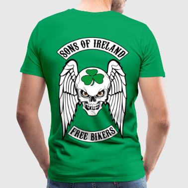 bikers - sons of ireland - Men's Premium T-Shirt
