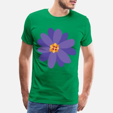 Collection Flower summer purple - Men's Premium T-Shirt