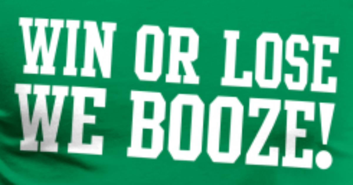 7adbaf080 win or lose we booze!! Men's Premium T-Shirt | Spreadshirt