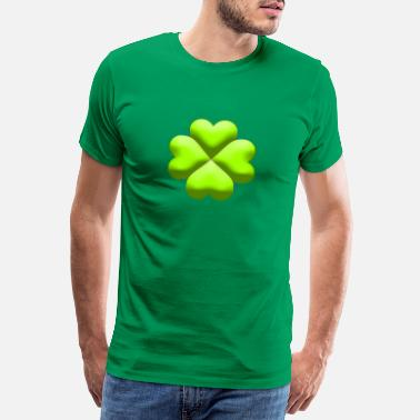 Clover  CLOVER 4 SHEETS  - Men's Premium T-Shirt