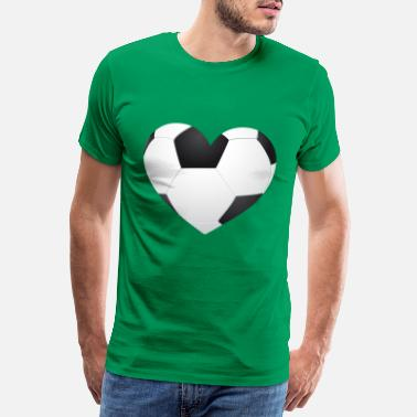 Club Champion Du Monde coeur de football - T-shirt Premium Homme