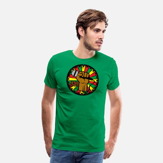 Reggae T-Shirts - Reggae eu - Men's Premium T-Shirt kelly green