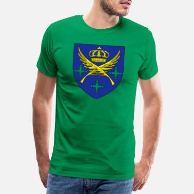 Lucia City coat of arms Saint Etienne Loire - Men's Premium T-Shirt