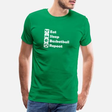 Hall basket - Premium T-shirt herr