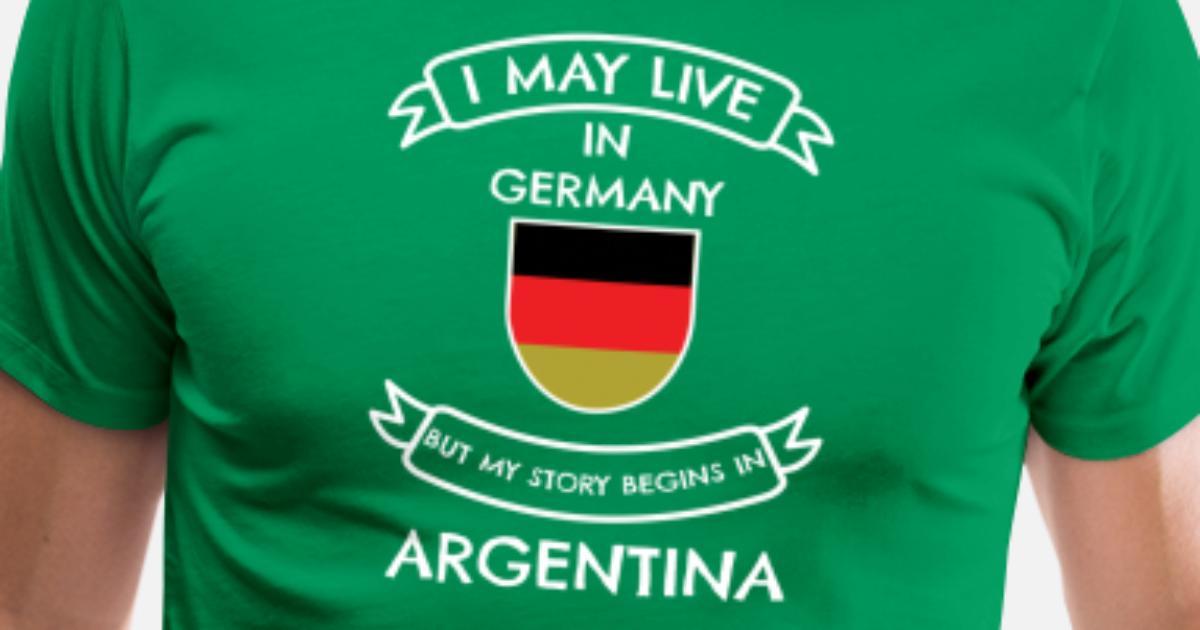 d896dcac8 Argentyna Premium koszulka męska | Spreadshirt