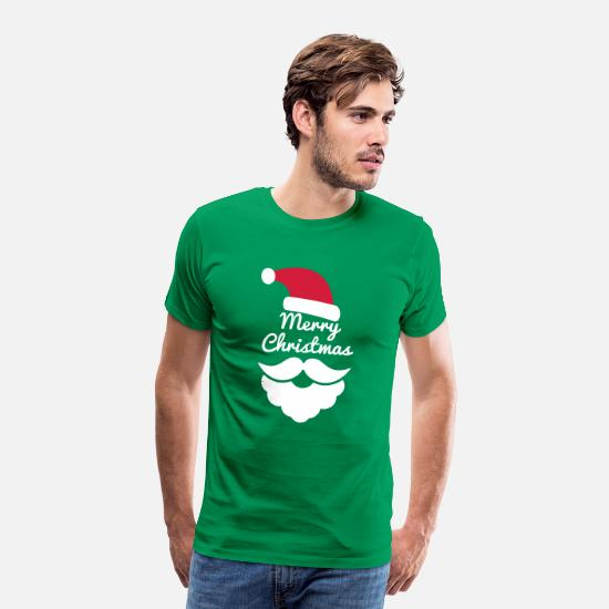 Weihnachten T-Shirts - Merry Christmas - Männer Premium T-Shirt Kelly Green
