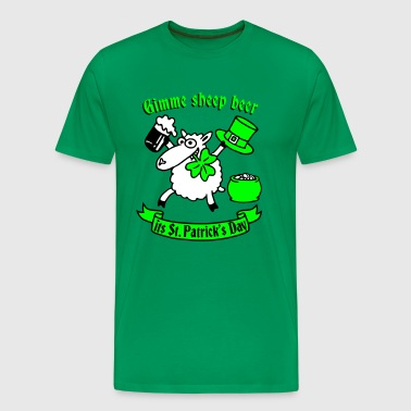 st_patricks_sheep - T-shirt Premium Homme