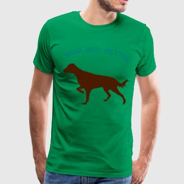 Irish_Red_Setter_cb - Männer Premium T-Shirt