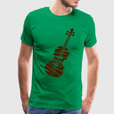 Violin - Men's Premium T-Shirt