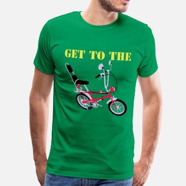 Raleigh Get to the chopper - Men's Premium T-Shirt
