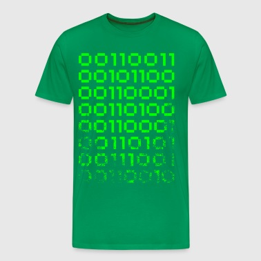 Binary Pi - Men's Premium T-Shirt
