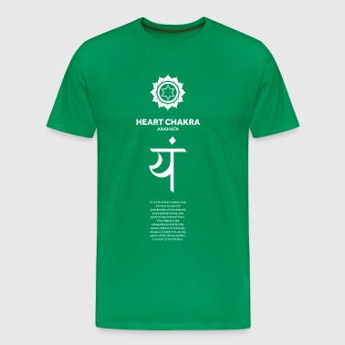 Yoga Heart Chakra - Men's Premium T-Shirt