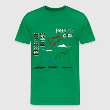 Freestyle Kiting - Männer Premium T-Shirt