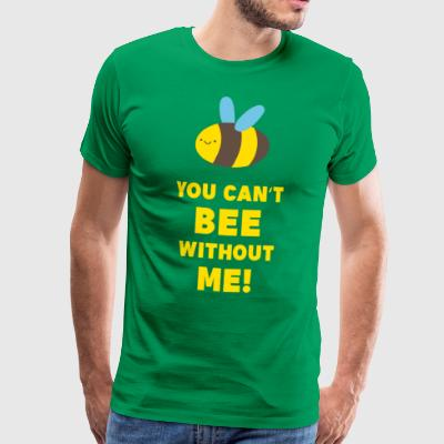Bee imkers insect leven Nature Hobby Gift - Mannen Premium T-shirt