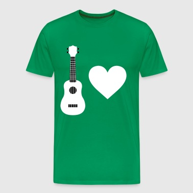 Ukulele Love - Men's Premium T-Shirt