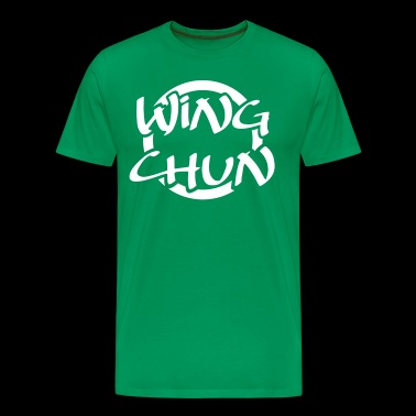 WING CHUN • LOGO-01 - Men's Premium T-Shirt