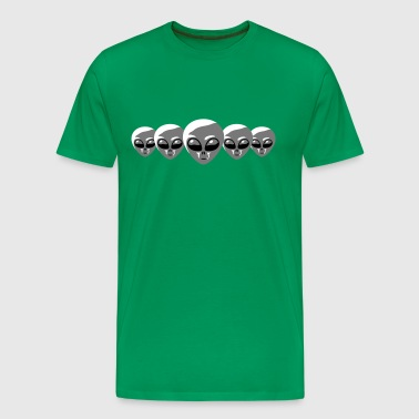 Alien Heads - Men's Premium T-Shirt