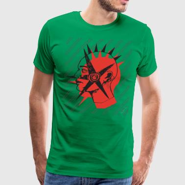 Punk star line - Men's Premium T-Shirt