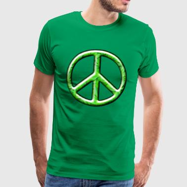 3D CND Weed Leaves - Men's Premium T-Shirt