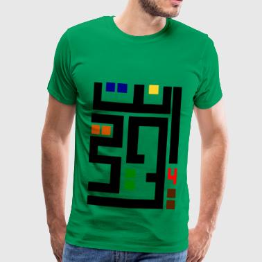 Arabic - Men's Premium T-Shirt