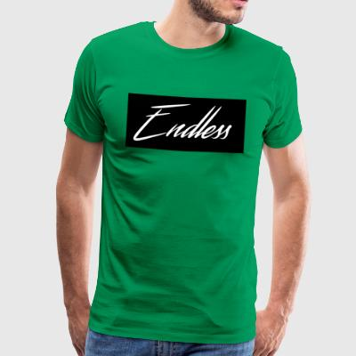 Endless Black - Premium-T-shirt herr
