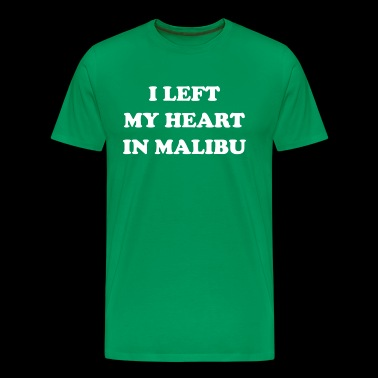 I Left My Heart In Malibu - Men's Premium T-Shirt