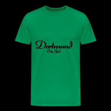 Dortmund City Girl - Premium T-skjorte for menn