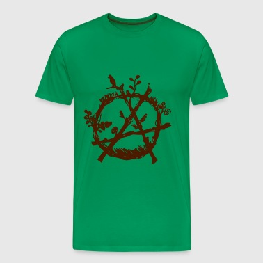 green anarchy eco - T-shirt Premium Homme