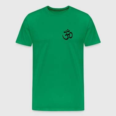om - sign - Men's Premium T-Shirt