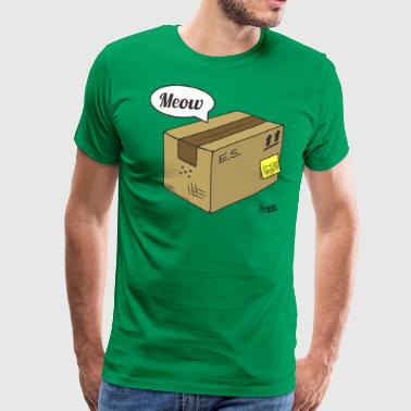 Le chat de Schrödinger (version 1) - T-shirt Premium Homme