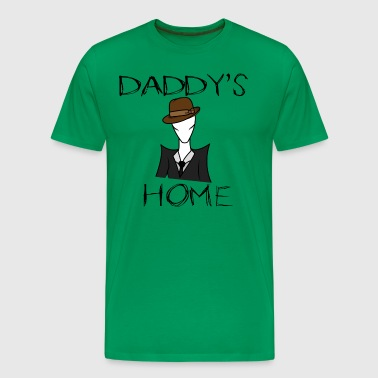Daddy's Home (slender) - Men's Premium T-Shirt