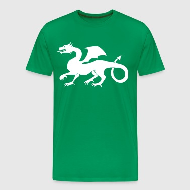 Dragon Middle Age Gift Idea White - Men's Premium T-Shirt