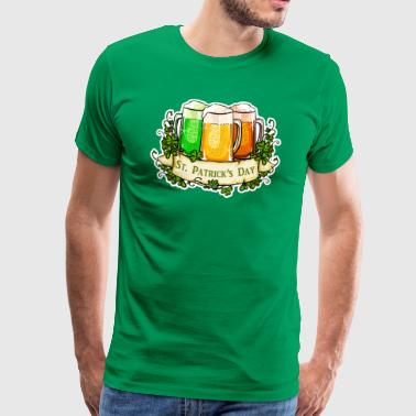 St Patricks Day - T-shirt Premium Homme