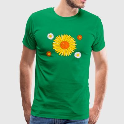 Yellow flowers - Männer Premium T-Shirt