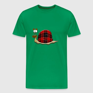 scottish snail - Men's Premium T-Shirt
