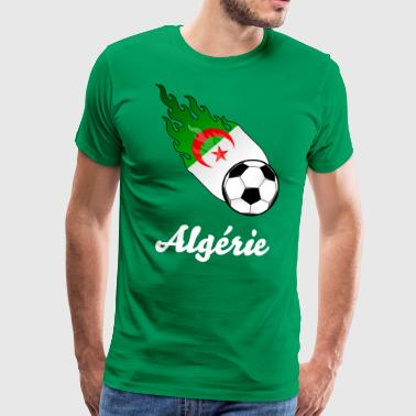 Football Fireball Algérie - T-shirt Premium Homme