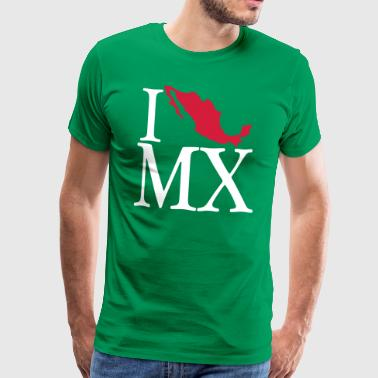 I love MX - I love Mexico - Men's Premium T-Shirt