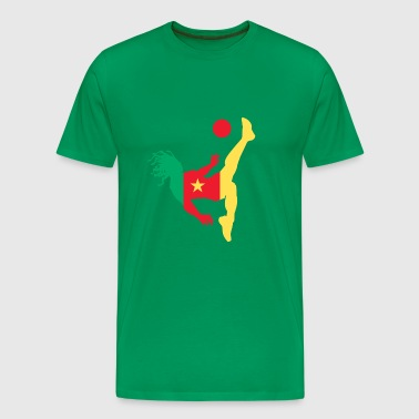 cameroon soccer - T-shirt Premium Homme