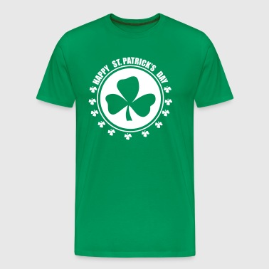 Happy st.patricks days - Mannen Premium T-shirt