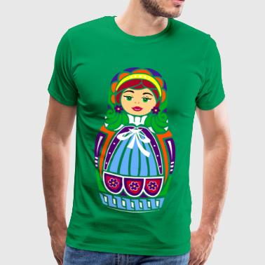 Matriochka Doll - T-shirt Premium Homme