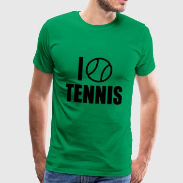 2541614 15368816 Tennis - Men's Premium T-Shirt