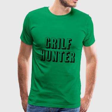 Grilf Hunter - Männer Premium T-Shirt