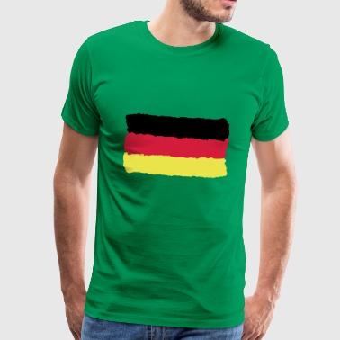 black red gold Germany flag Germany - Men's Premium T-Shirt