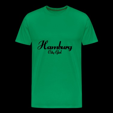 Hamburg City girl - Men's Premium T-Shirt