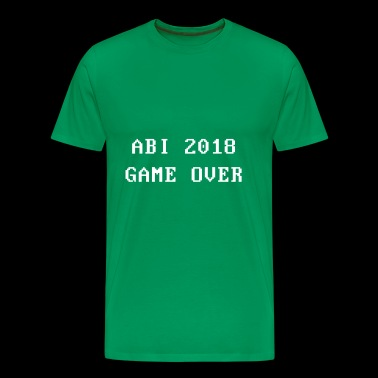 Abi 2018 - Spill over - Premium T-skjorte for menn